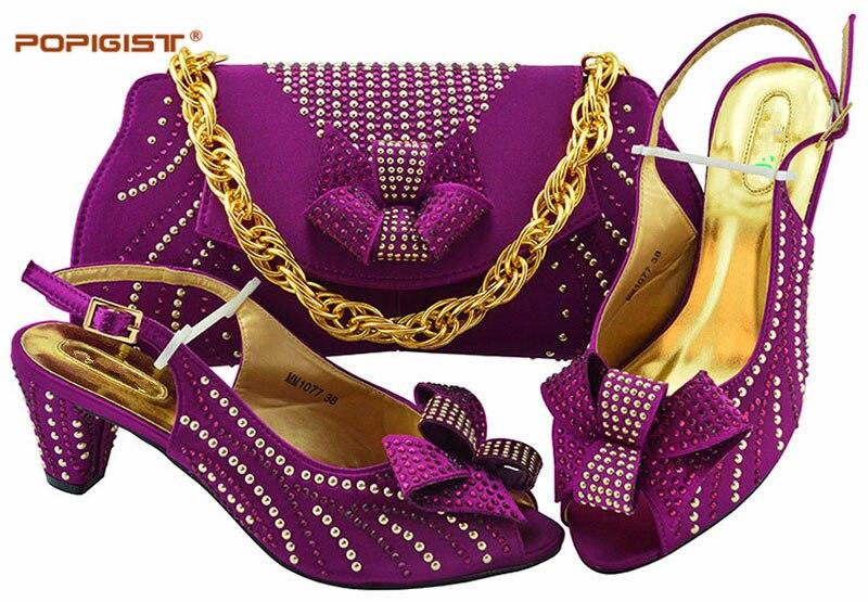 gold Italien d sky teal En Femmes Mode De Bleu wine Blue Pompes Ensemble Assorties Black Chaussures Ciel Et Courtes Pour Africain Italie Sacs magenta 2019 coral purple ZUqBnR