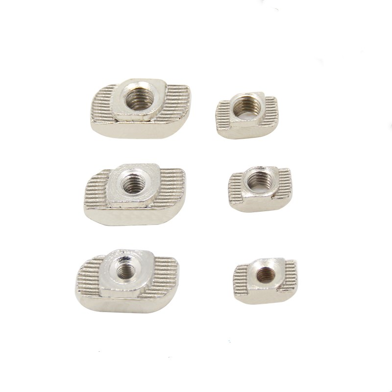 50Pcs/lot 3D Printer M3 M4 M5 T Type Nut Fastener Connector For 2020 3030 Aluminium Profile Parts T Nut Free Shipping 50pcs lot emb20n03g mb20n03g b20n03g 20n03g 100% new free shipping