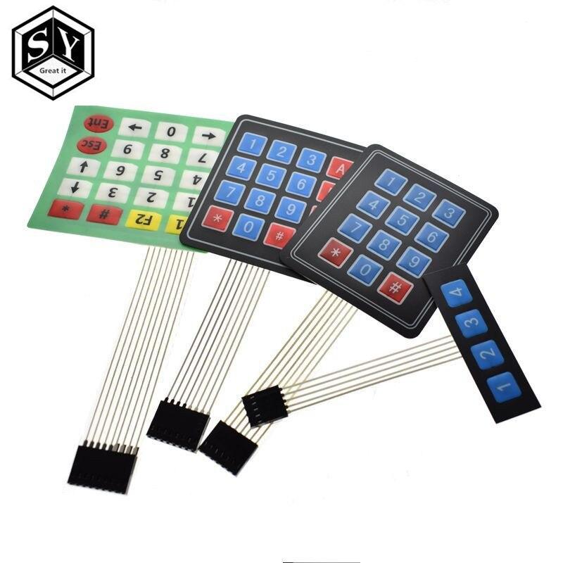 1 Pcs Große Es 1x4 4x4 Matrix Array Matrix Tastatur 4 12 16 20 Schlüssel 3x4 4x5 Für Arduino
