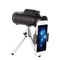 2018 High Quality Monocular Powerful Binoculars Zoom Field Glasses Handheld Telescope Military Hd Professional Hunting Phone