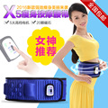 Electric Fitness Vibrating 5 Motors Massager Slimming Belt Vibration Massage Fat Burning Weight Losing