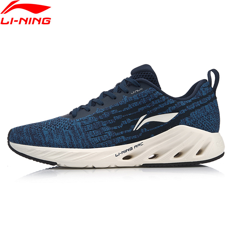 Li-Ning Men LN ARC 2018 Cushion Running Shoes Mono Yarn Breathable LiNing Wearable Sport Shoes Sneakers ARHN083 XYP805 li ning men ln arc element running shoes cushion breathable lining sport shoes sneakers arhm053 xyp600