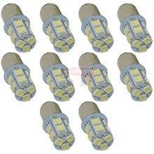 Safego 10 個 P21W 1156 1157 は、シグナル · 電球 5050 13 SMD S25 BAY15D BA15S 車のブレーキテールライトパーキングライト 12 12v ホワイト