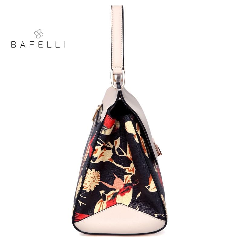 BAFELLI split leather large capacity shoulder bag chinese style luxury  handbag hot sale Beige bolsa feminina women messenger bag-in Top-Handle Bags  from ... ffc483caf8