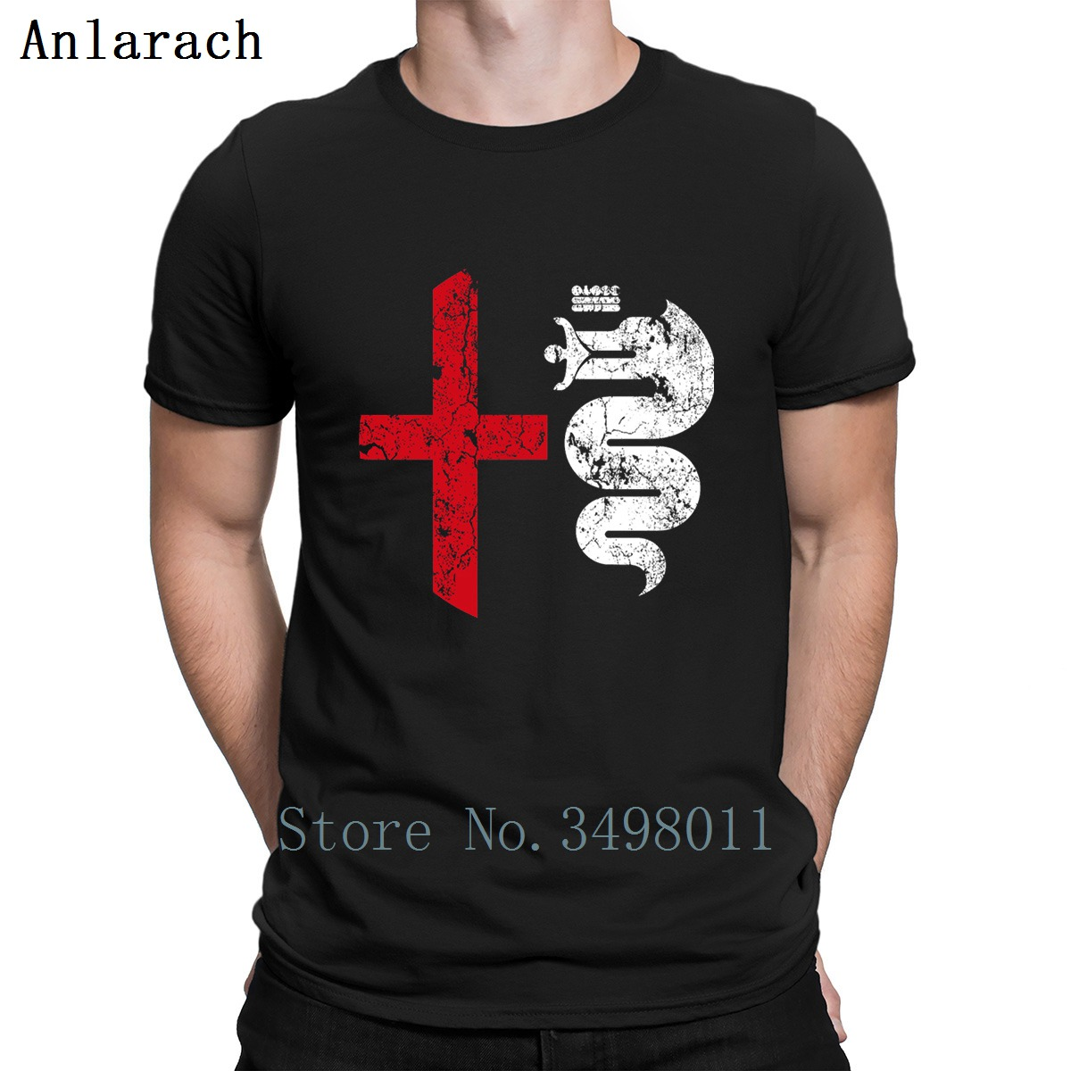 Alfa Romeo T Shirt Designs Cotton Round Neck Basic Solid Graphic Funny Casual Spring Outfit Shirt