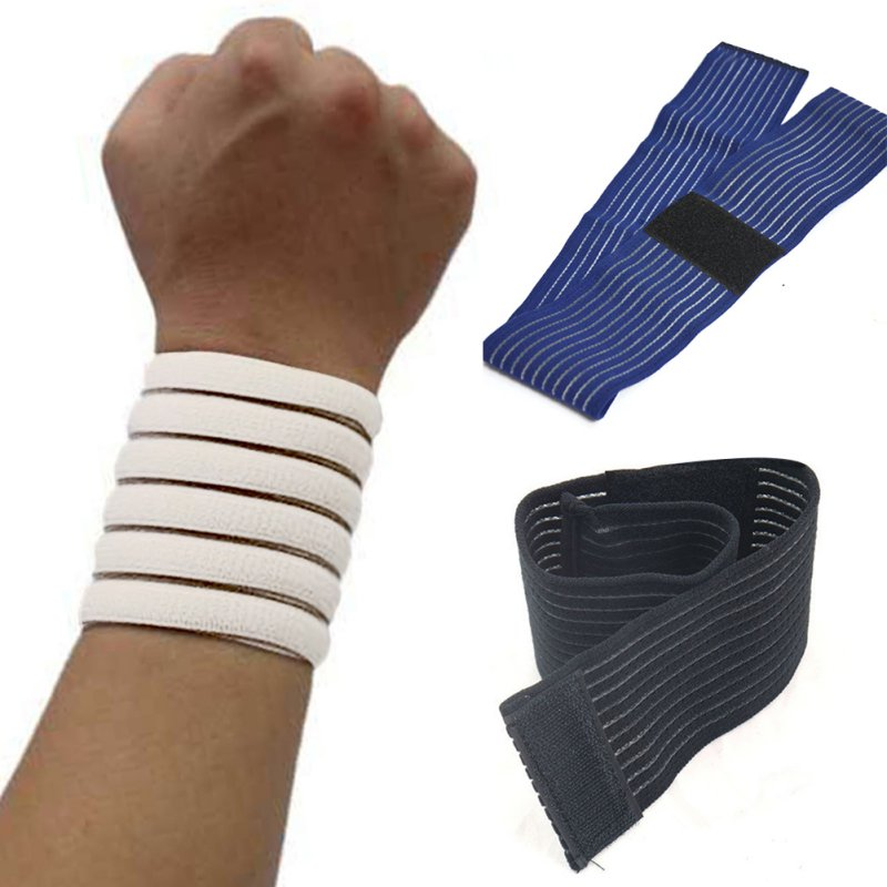 3 Colors Outdoor 1 pc Sports Wrist Brace Wrap Support Gym Strap Elastic Wristband Bandage