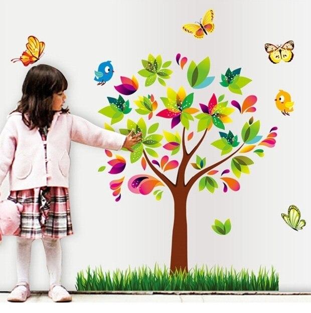 Aliexpress Com Buy Girls Children Flower Wallpaper