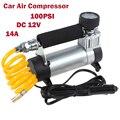 YD-3035 Portátil Super Flow 12 V 14A 100PSI Auto Pneu Pneu Inflator/Bomba de Carro Bomba de Ar do carro Do Carro Auto Compressor de Ar 12 V