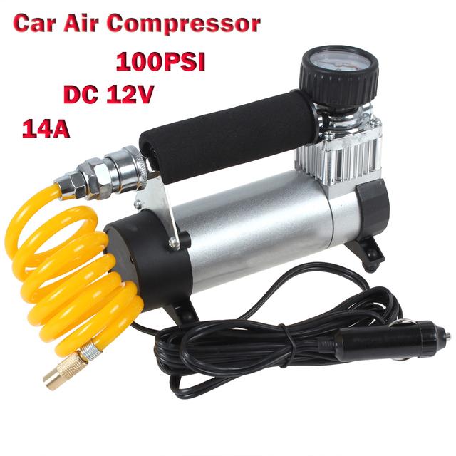 YD-3035 Portable Super Flow 12 V 14A 100PSI Auto de Neumáticos Inflador/Bombas de Compresor De Aire Auto Del Coche Bomba de Aire del coche Del Coche 12 V