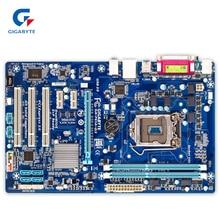 Gigabyte GA-P61A-D3 оригинальный использоваться для настольных ПК P61A-D3 H61 LGA 1155 i3 i5 i7 DDR3 16 г ATX
