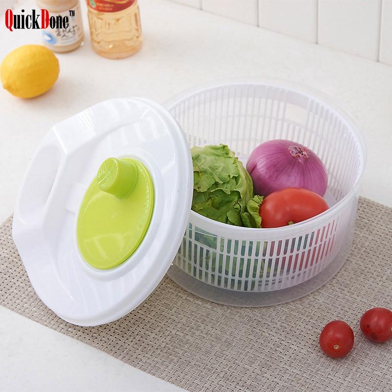 QuickDone Gemüse Dörr Trockner Salat Spinner Fruits Basket Waschen Sauber Ablagekorb Washer Trocknen Maschine AKC5101