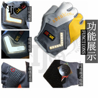 gp pro riding heated racing dirt bike biker LED turn signal light revit glove leather motocross accessories Motorcycle gloves