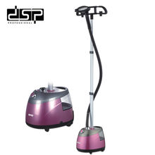DSP  High quality adjustable hanging vertical clothing steamer home professional steam ironing machine 1.8kW 220-240V