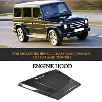 Carbon Fiber Car Front Engine Cover Hood For Mercedes Benz G CLASS W463 G500 G550 G55