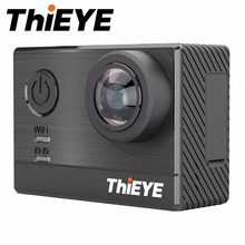 ThiEYE T5e 4K WIFI Action Camera Ultra HD 60M Waterproof Shockproof Super-Wide View Camera 2 inch LCD Screen
