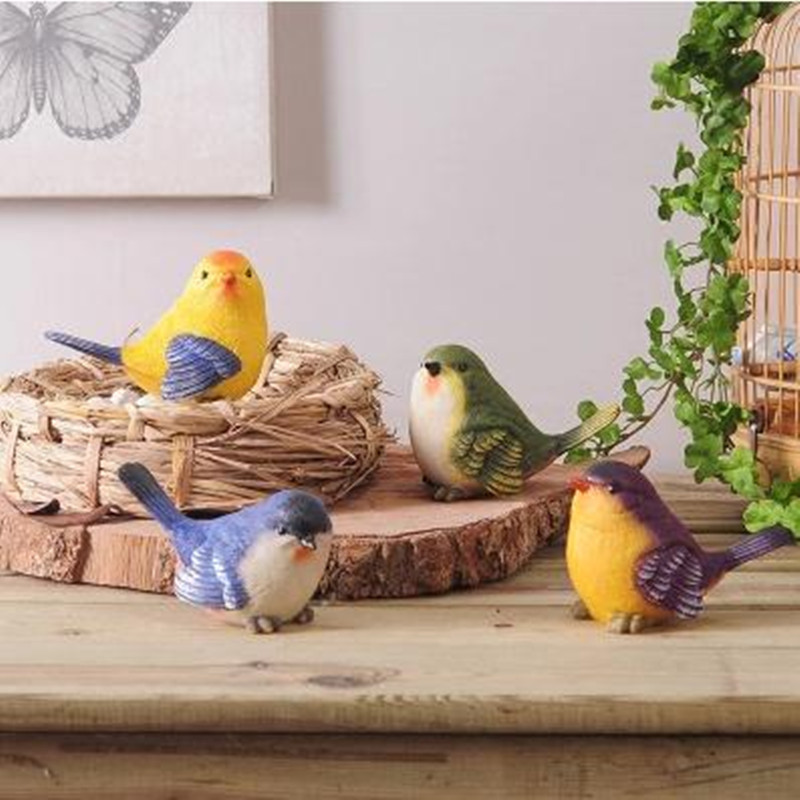 Simulation Bird Crafts Creative Home Decoration Craft