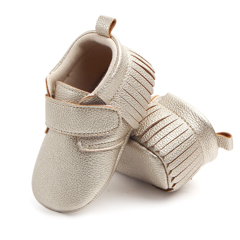6 Colors Spring Baby Shoes PU Leather Newborn Boys Girls Shoes First Walkers Baby Moccasins 0-12 Months