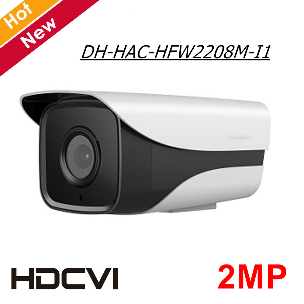 2MP DH HDCVI Camera HAC-HFW2208M-I1 HD 1080P Cmos IR distance 50M CCTV Camera Starlight level Security Camera for Outdoor use 2MP DH HDCVI Camera HAC-HFW2208M-I1 HD 1080P Cmos IR distance 50M CCTV Camera Starlight level Security Camera for Outdoor use