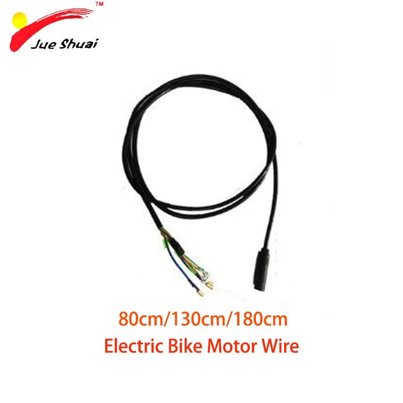 Waterproof Motor Cable 9 pin Brushless Geared Hub Motor Wire Motor Connector for Electric Bike Kit Brushless Elektrikli Bisiklet