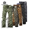 Big size Brand Overalls Cargo Pants for men qualtity men's pant trousers men military clothing