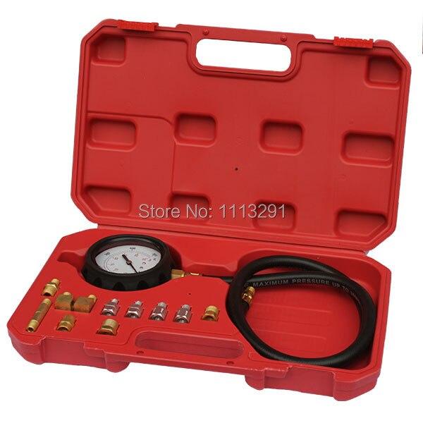 Prix pour 14 pcs moteur testeur de pression d'huile gabarit d'essai test de diagnostic tool set kit