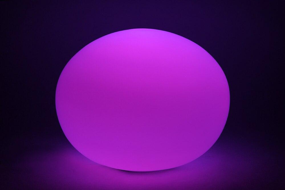 Волшебный RGB светодиодный шар наружный диаметр 25 см перезаряжаемый, светящийся шар, водонепроницаемый светильник для бассейна, меняющий цв... - 3