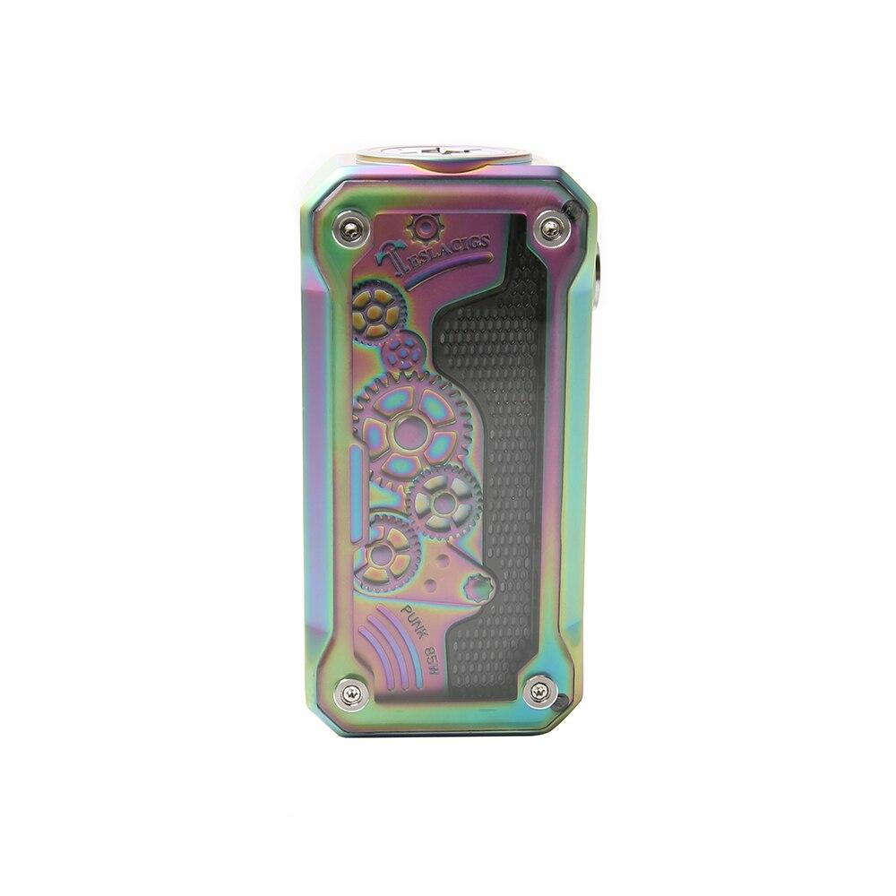 Original 85 W Tesla Punk TC boîte Mod Portable Punk Style Vape pas 18650 batterie boîte Mod électronique Cigarette boîte Mod Vs glisser 157 W - 2