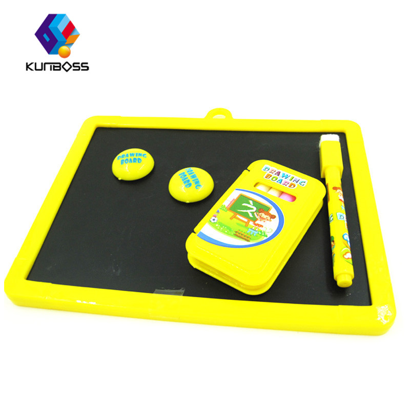 Children Educational Toys Magnetic Whiteboard Graffiti Chalkboard Magnetic Reversible Drawing Board Education Kids Puzzle Toy