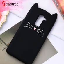 Soaptree Case For Huawei Honor 6X Cases for Mate 9 Lite Cute Cat Ear Soft Silicone Protective Cover GR5 2017