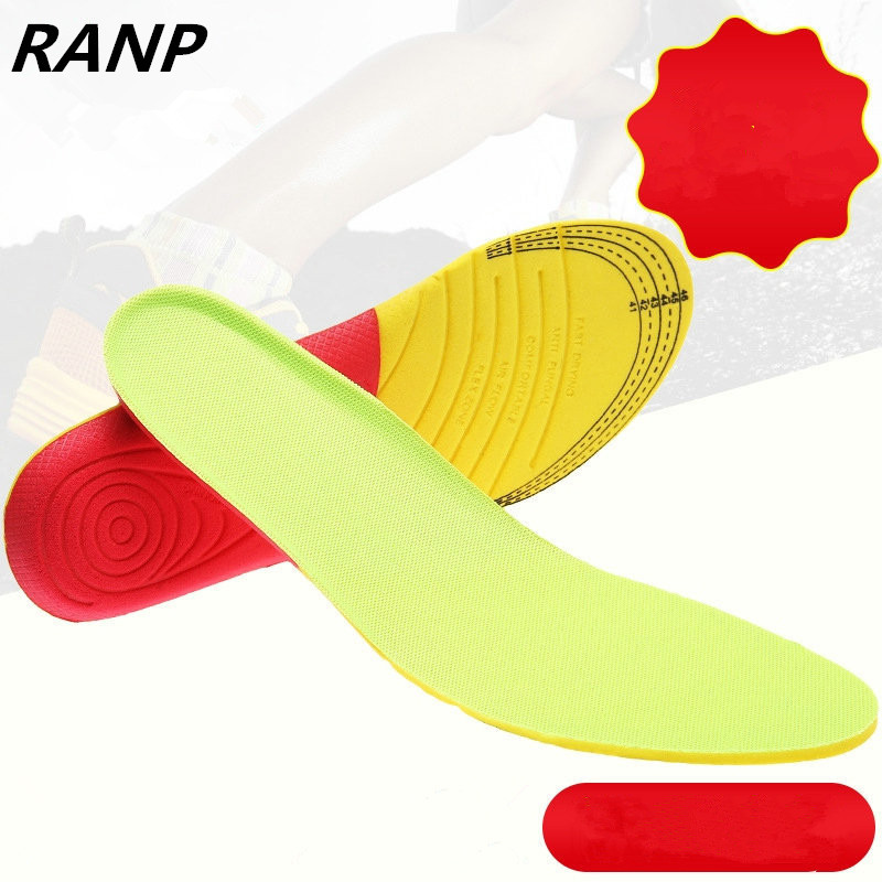 Dropshipping Sport Gel Insoles Memory Foam Pad Shock Absorption Cushion Shoes Inserts Breathable Insole Foot Heat Care Men Women ultra soft memory foam pu sports insoles women or men shoes pad gel orthopedic thickened flatfoot absorb sweat military insoles
