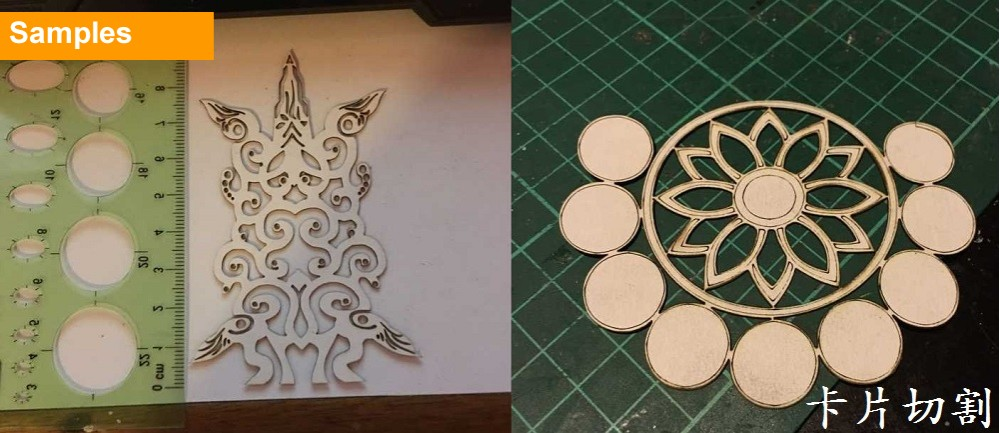 Diy laser engraving machine samples (8)