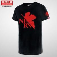 EVA T Short Sleeve T Shirt Evangelion EVA Unit Animation Short Sleeve Men Tshirt Hook On