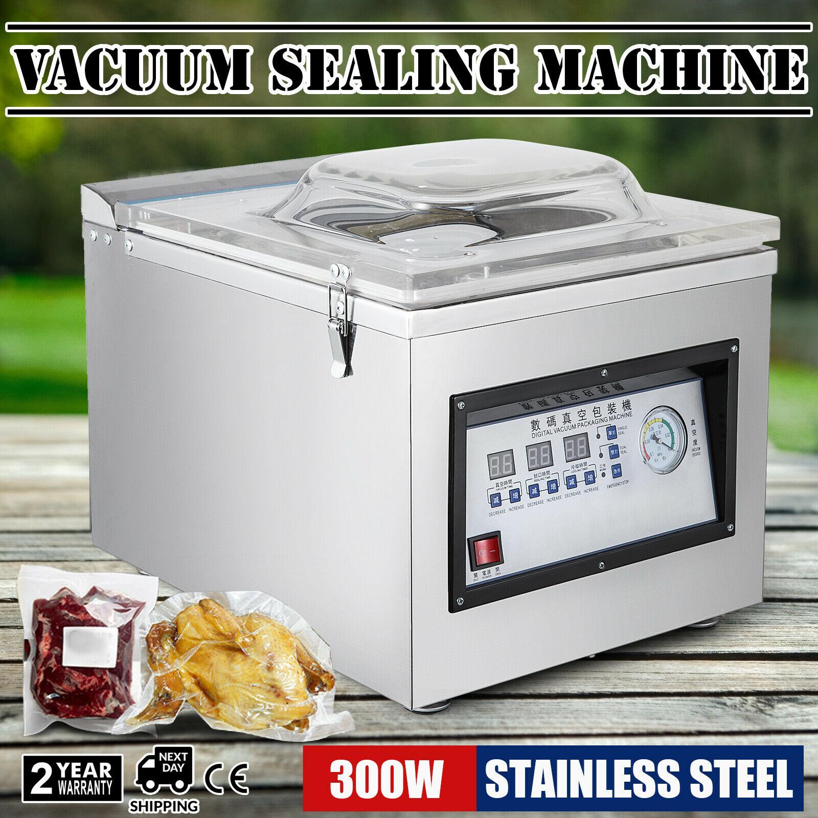 Z-260C Chamber Vacuum Sealer 300W Sealing Power Vacuum Sealer Automatic Sealer