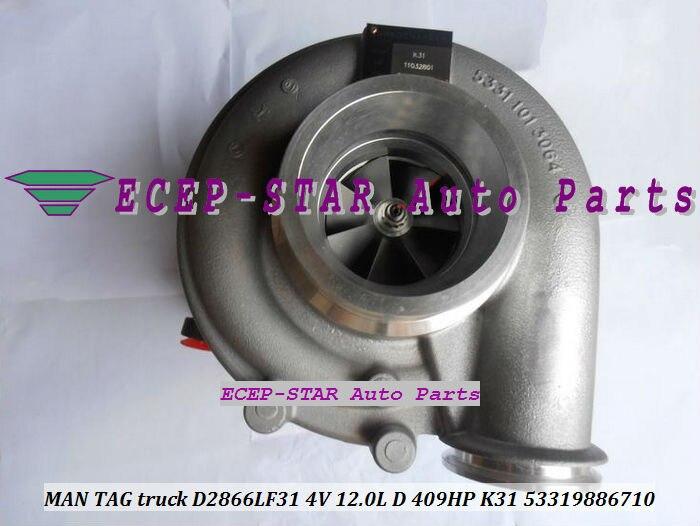 K31 6710 53319886710 53319706710 5331 988 6710 5331 970 6710 Turbo турбины турбокомпрессора Для Человека TAG грузовик D2866LF31 12.0L 409HP