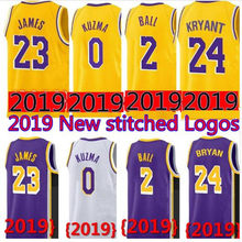 fbb522d90 23 LeBron James Lakers Jersey 0 Kyle Kuzma Men Youth 2019 Los Angeles James  Lakers 2 Lonzo Ball 14 Brandon Ingram 24 Kobe Bryant
