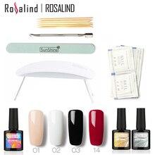 New Arrival Rosalind Hello UV Gel Kit Soak-off Gel Polish Gel Nail Kit Nail Art Tools Sets Kits Manicure Set #2