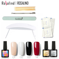 Nueva Llegada Hola Rosalind Kit Gel UV Soak-off Gel Polish Kit de Uñas de Gel Herramientas Nail Art Sets Kits de Manicura #2