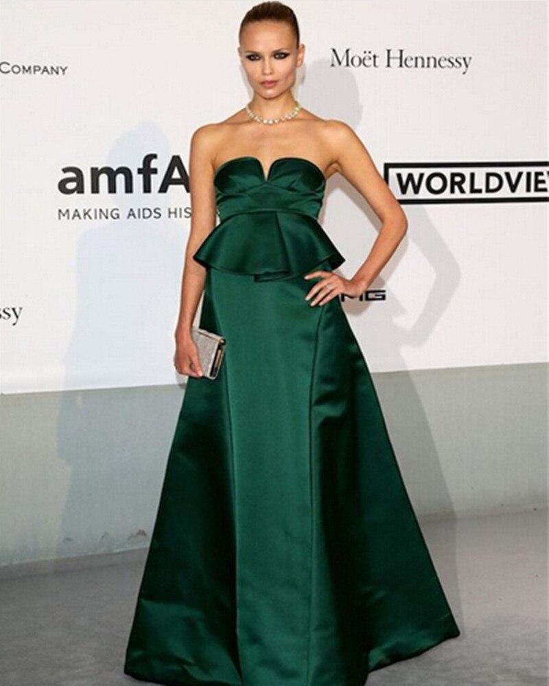 Popular Dark Green Strapless Dress-Buy Cheap Dark Green Strapless ...