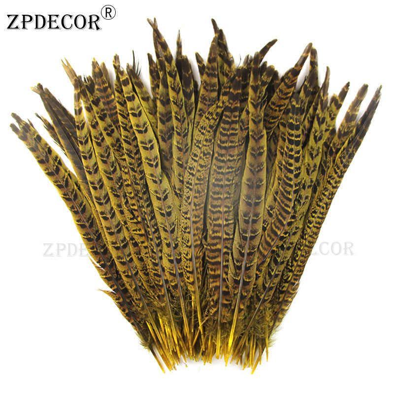 Дюйм 12-14 30-35 см хомут для шеи перья из хвоста фазана