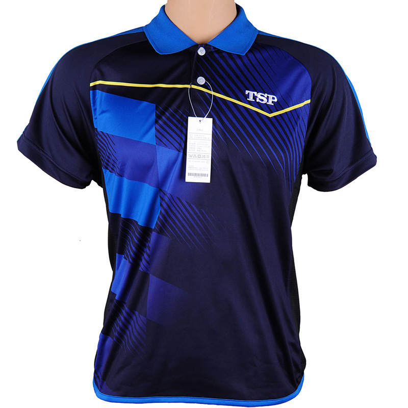 TSP T-Shirts Table-Tennis Jerseys Ping-Pong-Cloth Team for Men Women Sportswear Training