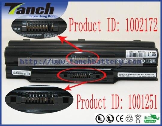 Remplacement fujitsu ordinateur portable batteries pour s8250 lifebook p8110 s760 lh700 biblo mg50u sh760 p771 mg55u ah572 mg50w sh761 10.8 v 6 cellulaire