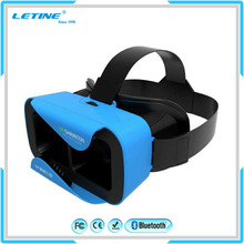 Hot Sale font b VR b font Shinecon Google Cardboard 2 0 Bluetooth Virtual Reality 3D