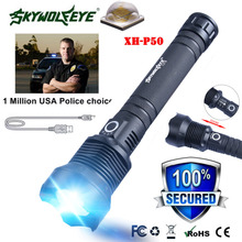 Waterproof XH P50 LED Flashlight Portable