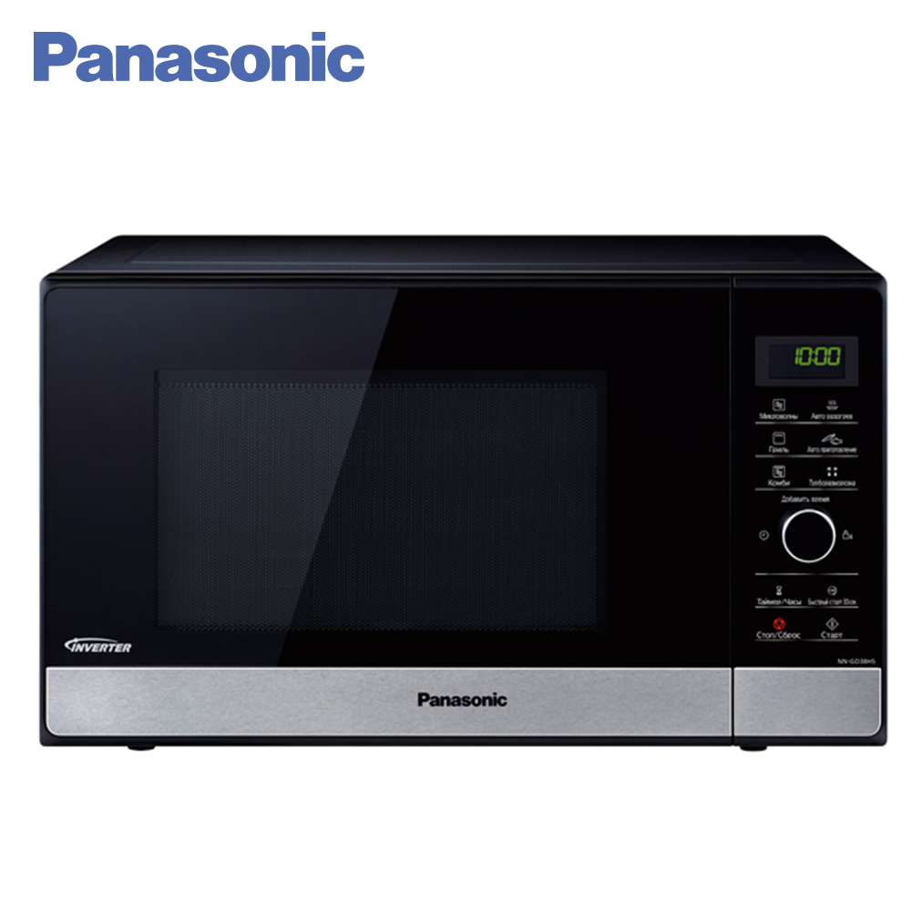 Panasonic Microwave Ovens NN-SD38HSZPE microwave aerogrill grill oven 10pcs lot high quality microwave oven repairing part 13 x 12cm mica plates sheets for galanz etc microwave