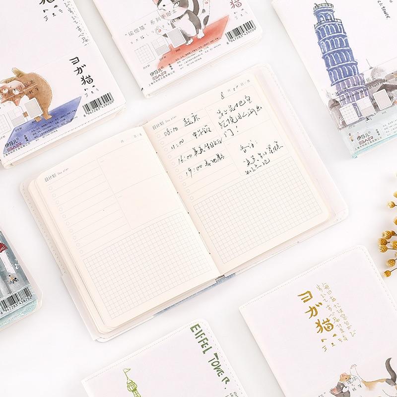 Eficiente 1 Piezas Papelería Creativa Simple Portátil Manual Estudiante Limpia Bloc De Notas-que Estilo Japonés Manual Refrescante Y Enriquecedor De La Saliva