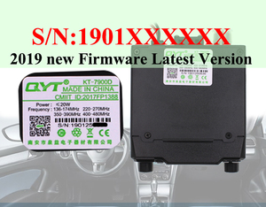 Image 3 - 2019 Latest Version Mini Mobile Radio QYT KT 7900D 25W Quad Band 144/220/350/440MHz KT7900D UV transceiver or with Power Supply