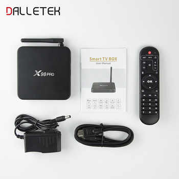 [Genuine] X98 PRO SUBTV Code French Arabic IPTV Box Amlogic S912 Octa Core 4K X98PRO Android 6.0 TV Box 3GB 32GB 2.4G/5GHz Wifi