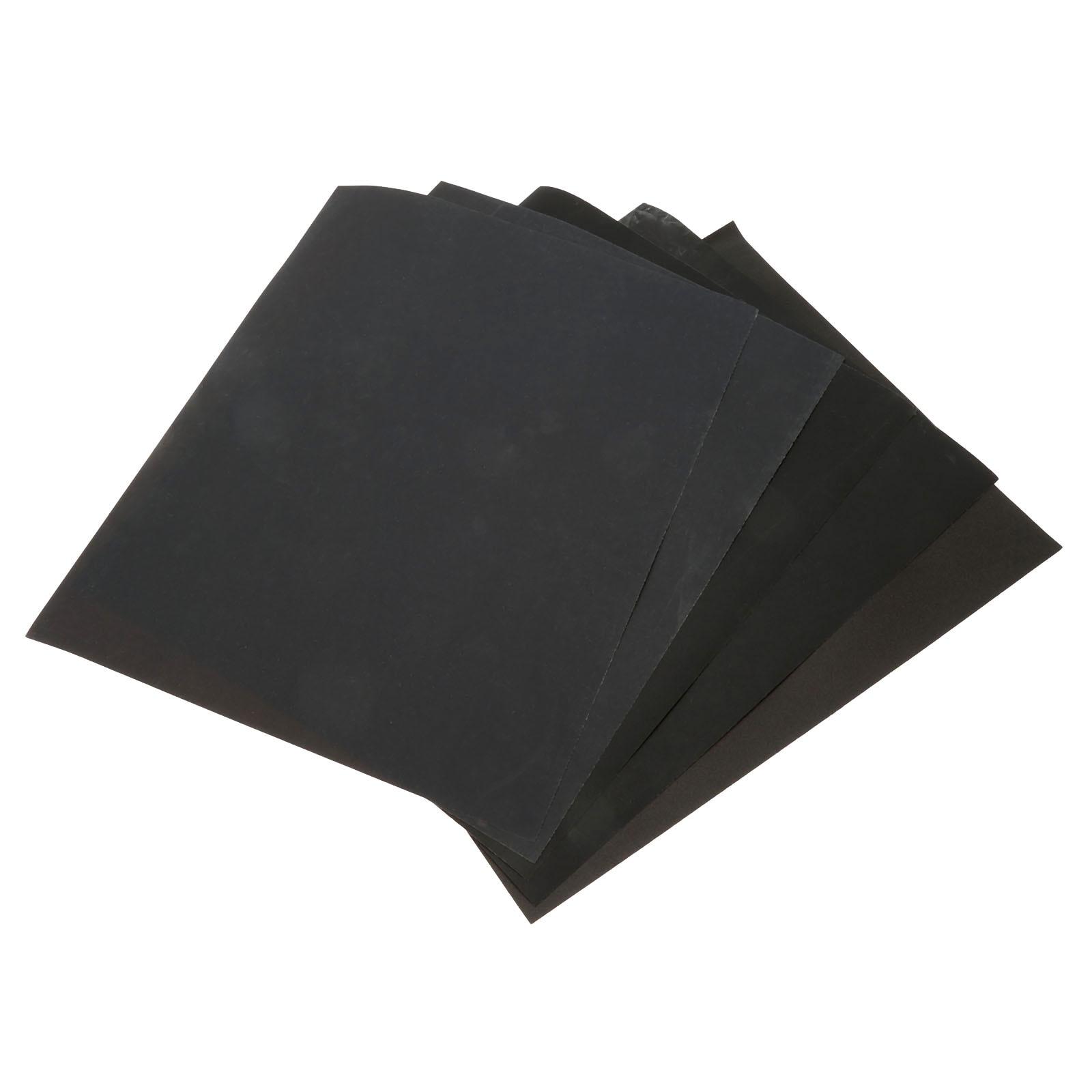 DRELD 5 fogli carta abrasiva impermeabile carta abrasiva carta - Utensili abrasivi - Fotografia 6