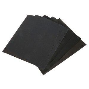 Image 5 - DRELD 5 arkuszy papier ścierny wodoodporny papier ścierny papier ścierny silikonowe szlifowanie polerowanie narzędzie (1xGrit 600 2x1000 1x1500 1x2000)