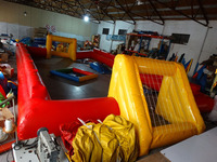 Inflatable football inflatable soccer field bumper